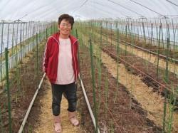 アスパラ農家の田口さん